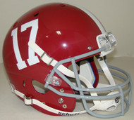 Alabama Crimson Tide #17 Schutt Full Size Replica Helmet
