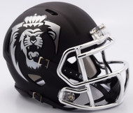 Old Dominion Monarchs Alternate Chrome Matte Riddell Speed Mini Football Helmet