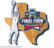 NCAA 2016 Final Four (Houston) State Lapel Pin