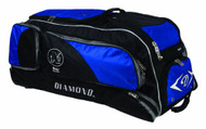 "Diamond GBox Baseball/Softball Wheeled Gear Box 38"" x 12"" x 15"" (Royal)"