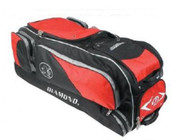 "Diamond GBox Baseball/Softball Wheeled Gear Box 38"" x 12"" x 15"" (Scarlet)"