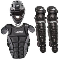 Diamond iX5 Youth Baseball Catcher's Gear Package - Black