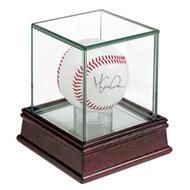 Ultra Pro Glass Single Baseball / Hockey Puck Display Case