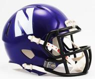 Northwestern Wildcats Revolution SPEED Mini Helmet