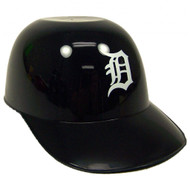 Detroit Tigers MLB 8 oz Snack Size / Ice Cream Mini Baseball Helmets - Quantity 6