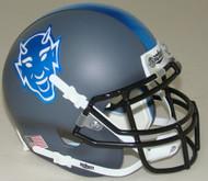 Duke Blue Devils Alternate Grey Schutt Mini Authentic Helmet