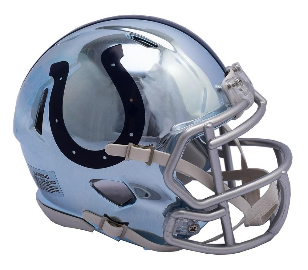 71c0bfe4 Indianapolis Colts Riddell Speed Mini Helmet - Chrome Alternate