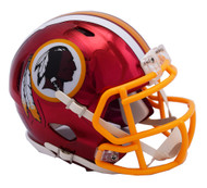 Washington Redskins Riddell Speed Mini Helmet - Chrome Alternate