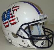 Washington Huskies Alternate Patriotic Schutt Full Size Replica Helmet