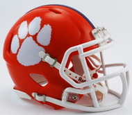 Clemson Tigers Revolution SPEED Mini Helmet