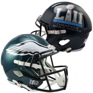 Philadelphia Eagles Super Bowl LII Champions Revolution Speed Replica Football Helmet