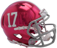 Alabama Crimson Tide Alternate Chrome NCAA Riddell Speed Mini Helmet