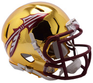 Florida State Seminoles Alternate Chrome NCAA Riddell Speed Mini Helmet