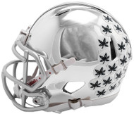 Ohio State Buckeyes Alternate Chrome NCAA Riddell Speed Mini Helmet