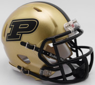 Purdue Boilermakers NCAA Revolution Riddell SPEED Mini Helmet