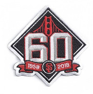 2018 San Francisco Giants 60th Anniversary Collectible Patch