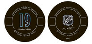 Joe Sakic #19 Colorado Avalanche Special Retirement Official NHL Game Puck in Cube