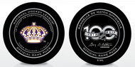 Tiger Williams Los Angeles Kings Legends Official NHL Game Puck in Cube