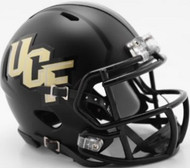 UCF Knights Matte Black Anthracite SPEED Mini Helmet