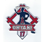 "SHOHEI OHTANI ""STRIKE"" FANPATCH MLB Collectible Patch"