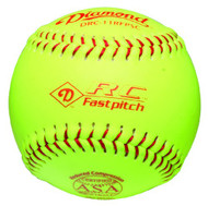 Diamond 11-Inch Reduced Compression Fastpitch Softballs, ASA Stamped, (Dozen) DRC-11 RFPSC