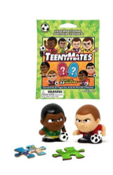 FIFA International Soccer TeenyMates Series Figurines - Lot of 6 Mystery Packs