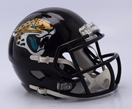 Jacksonville Jaguars 2018 Logo Riddell Revolution Speed Mini Football Helmet