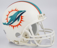 Miami Dolphins 2018 Logo Riddell Mini Helmet