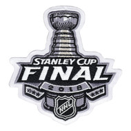 NHL 2018 Stanley Cup Final Collectors Jersey Patch - Las Vegas Golden Knights vs. Washington Capitals
