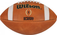 Wilson NCAA College Football Playoffs CFP Official Leather Game Football