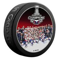 2018 NHL Stanley Cup Champions Washington Capitals Team Image Picture Souvenir Puck