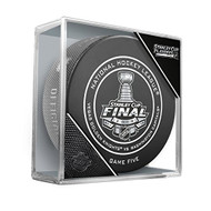 2018 Stanley Cup Finals Game #5 (Five) Washington Capitals vs. Las Vegas Golden Knights Official Game Hockey Puck Cubed