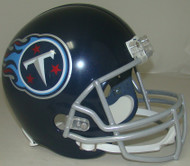 Tennessee Titans 2018 Satin Navy Metallic Riddell Full Size Replica Helmet