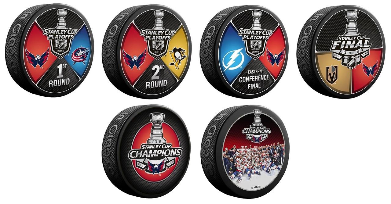 6a367915f 2018 Washington Capitals NHL Stanley Cup Champions Sherwood (6) Six ...