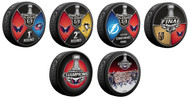 2018 Washington Capitals NHL Stanley Cup Champions Sherwood (6) Six Souvenir Puck Set