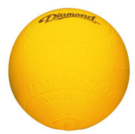 "Diamond 9"" Lightweight Foam Dimpled Baseball Size Practice Balls, Dozen"