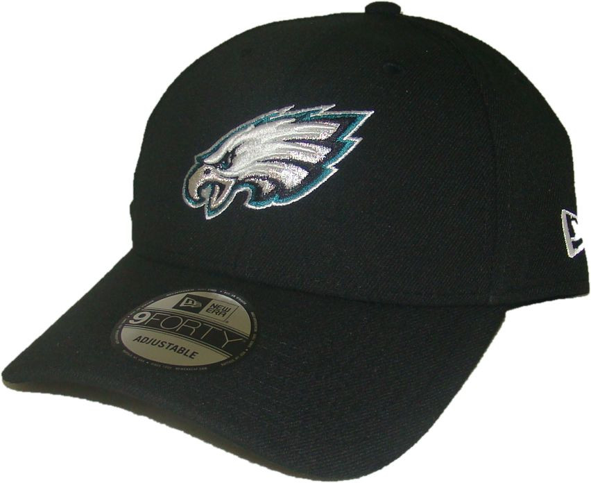 buy online 21b24 7dc9e PHILADELPHIA EAGLES New Era 9FORTY NFL ADJUSTABLE BASEBALL HAT   CAP. New  Era. Image 1