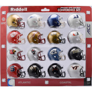 2018 NCAA ACC Pocket Pro Speed Revolution Mini Helmets Set by Riddell