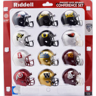 2018 NCAA PAC 12 Pocket Pro Speed Revolution Mini Helmets Set by Riddell