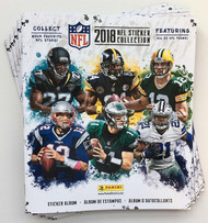 2018 Panini NFL Football Sticker Collection Album