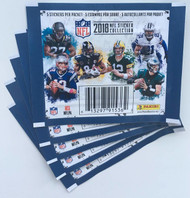 2018 Panini NFL Football Sticker Collection Pack (1 pack)