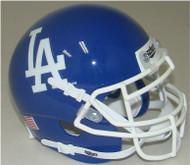Los Angeles Dodgers Schutt Mini FOOTBALL Helmet