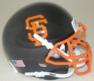 San Francisco Giants Schutt Mini FOOTBALL Helmet