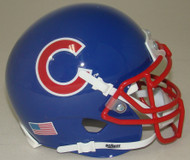 Chicago Cubs Schutt Mini FOOTBALL Helmet