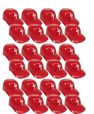 Philadelphia Phillies MLB 8oz Snack Size / Ice Cream Mini Baseball Helmets - Quantity 24