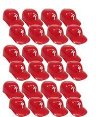 Philadelphia Phillies MLB 8oz Snack Size / Ice Cream Mini Baseball Helmets - Quantity 24