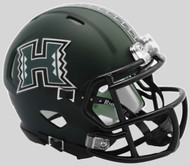 Hawaii Warriors NCAA Revolution SPEED Mini Helmet