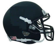 Navy Blue Flat Matte Blank Schutt Mini Football Helmet