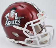 New Mexico State Aggies NCAA Revolution SPEED Mini Helmet