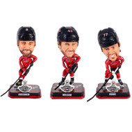 "NHL Washington Capitals 2018 Stanley Cup Champions 3-Pack 4"" Mini Bobblehead Set"